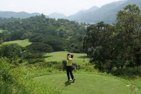 Golf - Victoria Course, Kandy