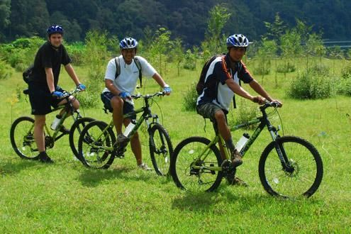 Cycling tours in Bali