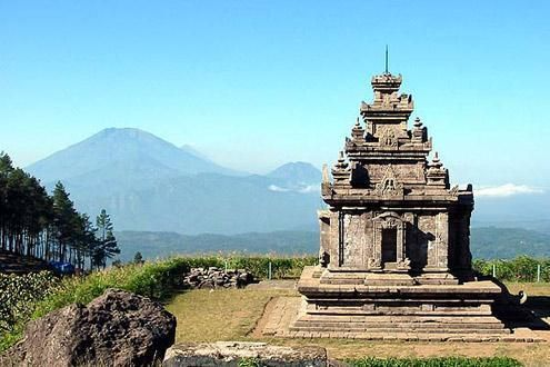 Gadang Songo Temple Explorer by Foot