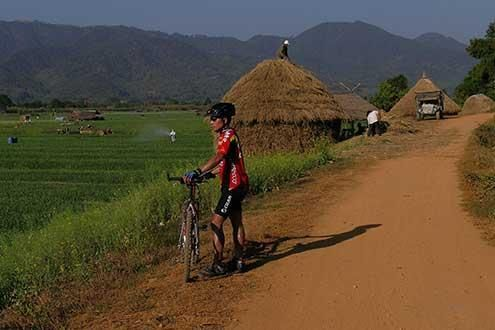 4 Day cycle tour from Chiang Mai to Chiang Rai