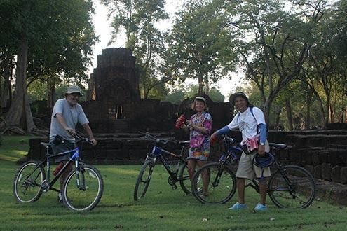 4 Day Cycle Tour through Central Thailand